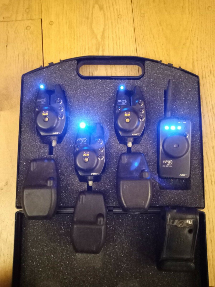 Ad - Fox Micron RX digital bite alarms On eBay here -->> https://t.co/lZ1YkURxpW  #carpfishing