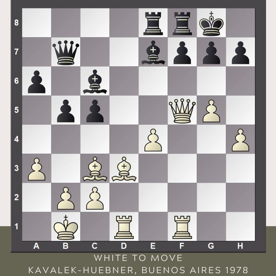test Twitter Media - Try to play like Lubomir Kavalek. White to move. #YourMove  Kavalek-Huebner Buenos Aires, 1978 https://t.co/4MRO85Ra2B