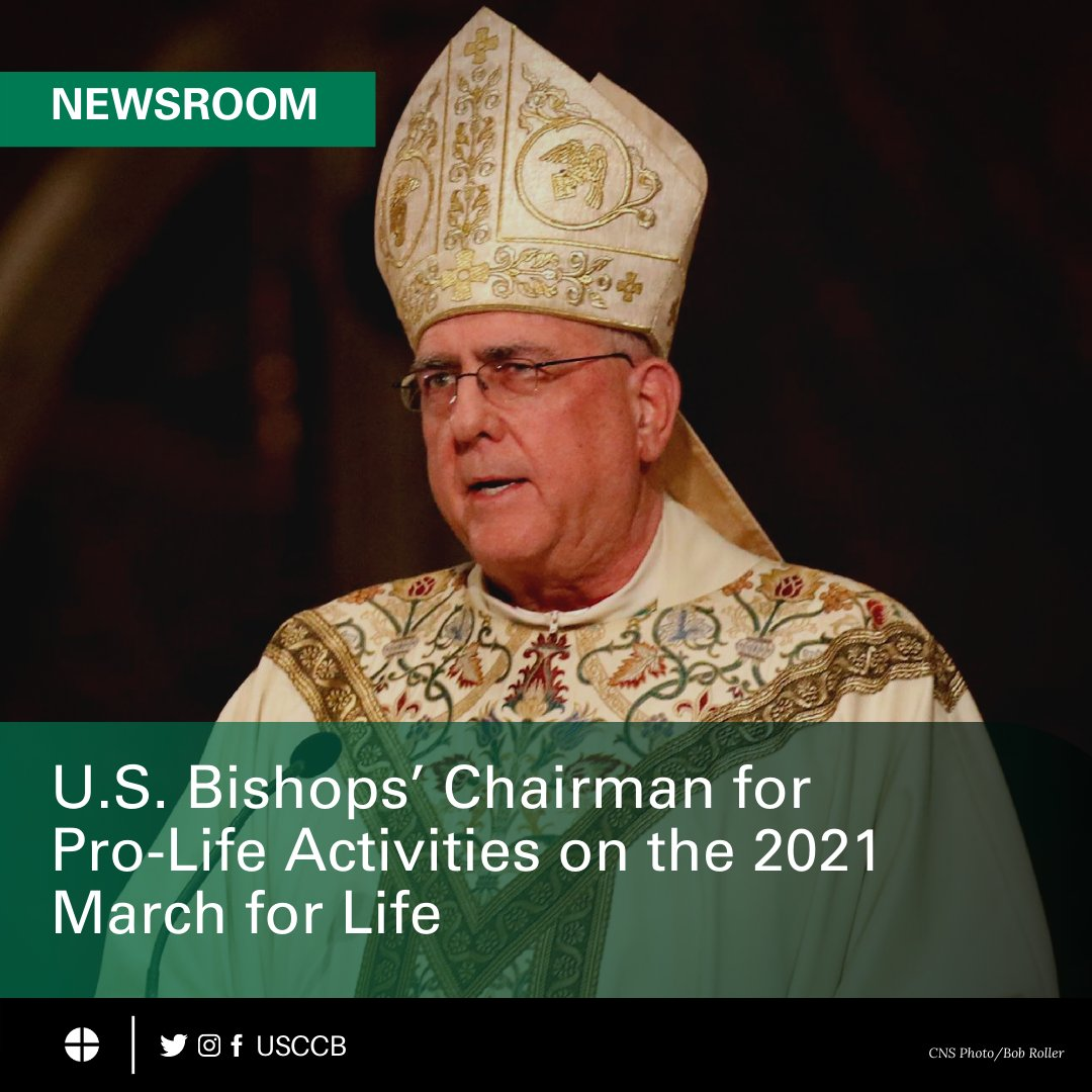 test Twitter Media - U.S. Bishops' Chairman for Pro-Life Activities on the 2021 March for Life: https://t.co/UA6Q0EvAu0 https://t.co/gSBO66n9nl