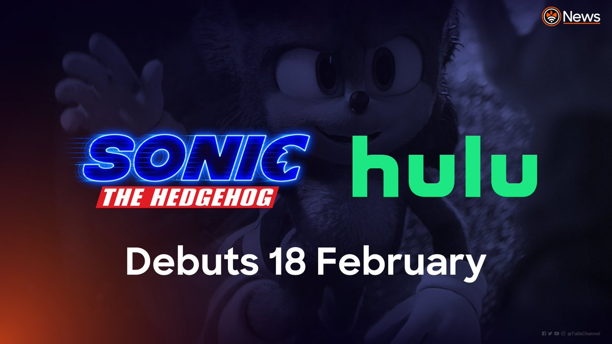 Sonic Movie Coming to Hulu on February 20th SonicTheHedgehog