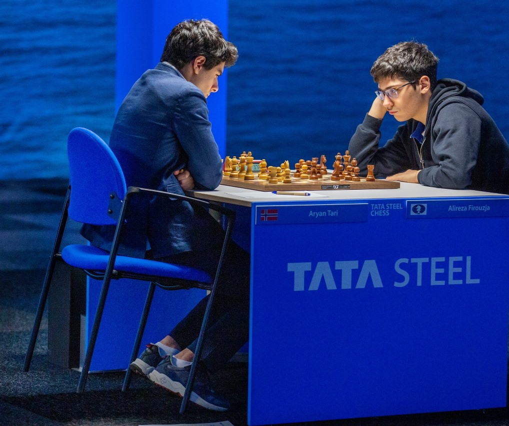 test Twitter Media - All draws in Round 4 of the #TataSteelChess Masters, but many of the games were edge-of-your-seat stuff!   https://t.co/tJatZF4Wmx   #c24live https://t.co/UK1lHTg6qk