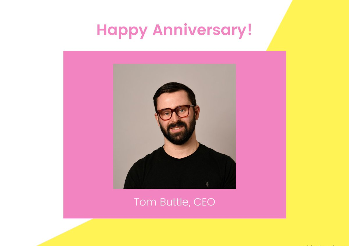 test Twitter Media - It's a big day at the Chameleon (virtual) office today. We're celebrating our brilliant CEO, @Tom_Buttle's 7 year work anniversary! Congratulations Tom! Thank you for always teaching us how to be less beige and motivating us to be the best we can https://t.co/FxjDgTFEeI