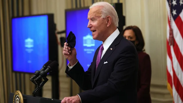 JUST IN: Biden seeks $15 minimum wage for federal workers, contractors