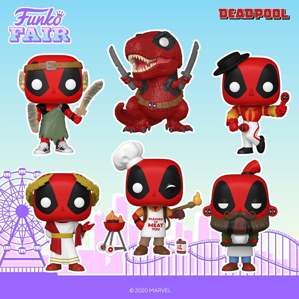 Funko Fair 2021: Marvel -Deadpool. Pre-order your favorites now!  #FunkoFair #Funko #Marvel #Deadpool