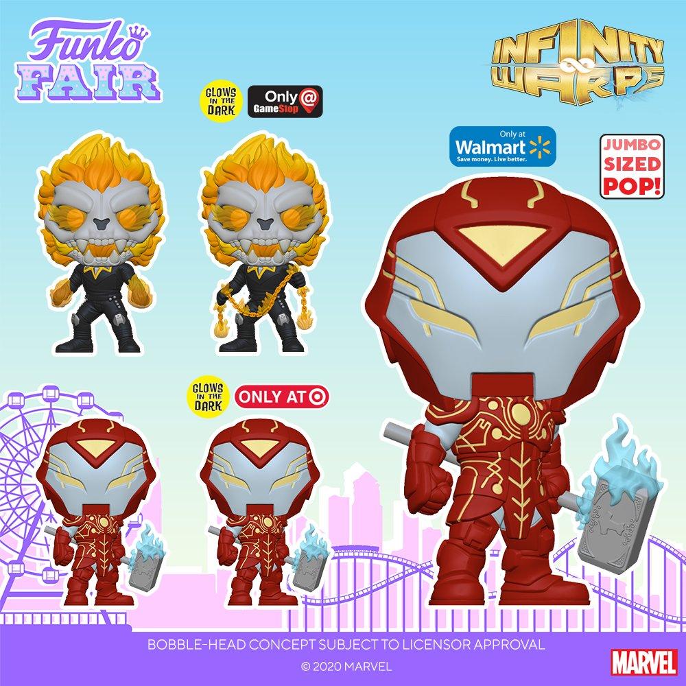 Funko Fair 2021: Marvel-Infinity Warps. Pre-order all your favorites now! @GameStop:    EB Games:   #FunkoFair #Funko #Marvel