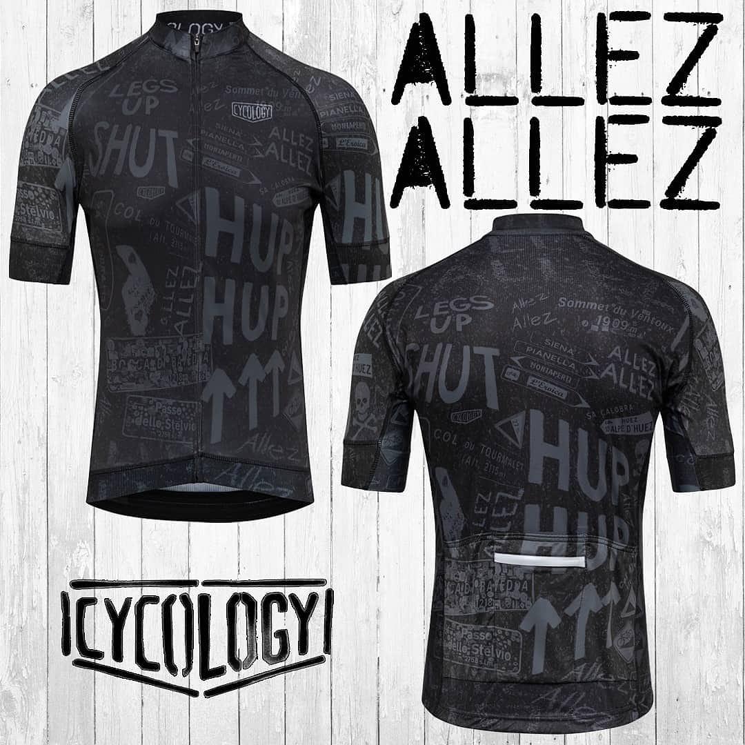 test ツイッターメディア - ALLEZ ALLEZ!!  「アレィ!アレィ!」 声援を身にまとい、ライドに出かけよう! #cycology #ALLEZALLEZ #ツールドフランス #チョークで描かれた応援 https://t.co/aEqoj5hToO