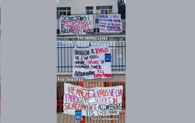 test Twitter Media - #Cronaca #Castellammare - «A scuola si, ma non così», studenti in presidio presso la sede della Regione LEGGI LA NEWS: https://t.co/NSxjq3fXYE https://t.co/BbCJpsQzHg