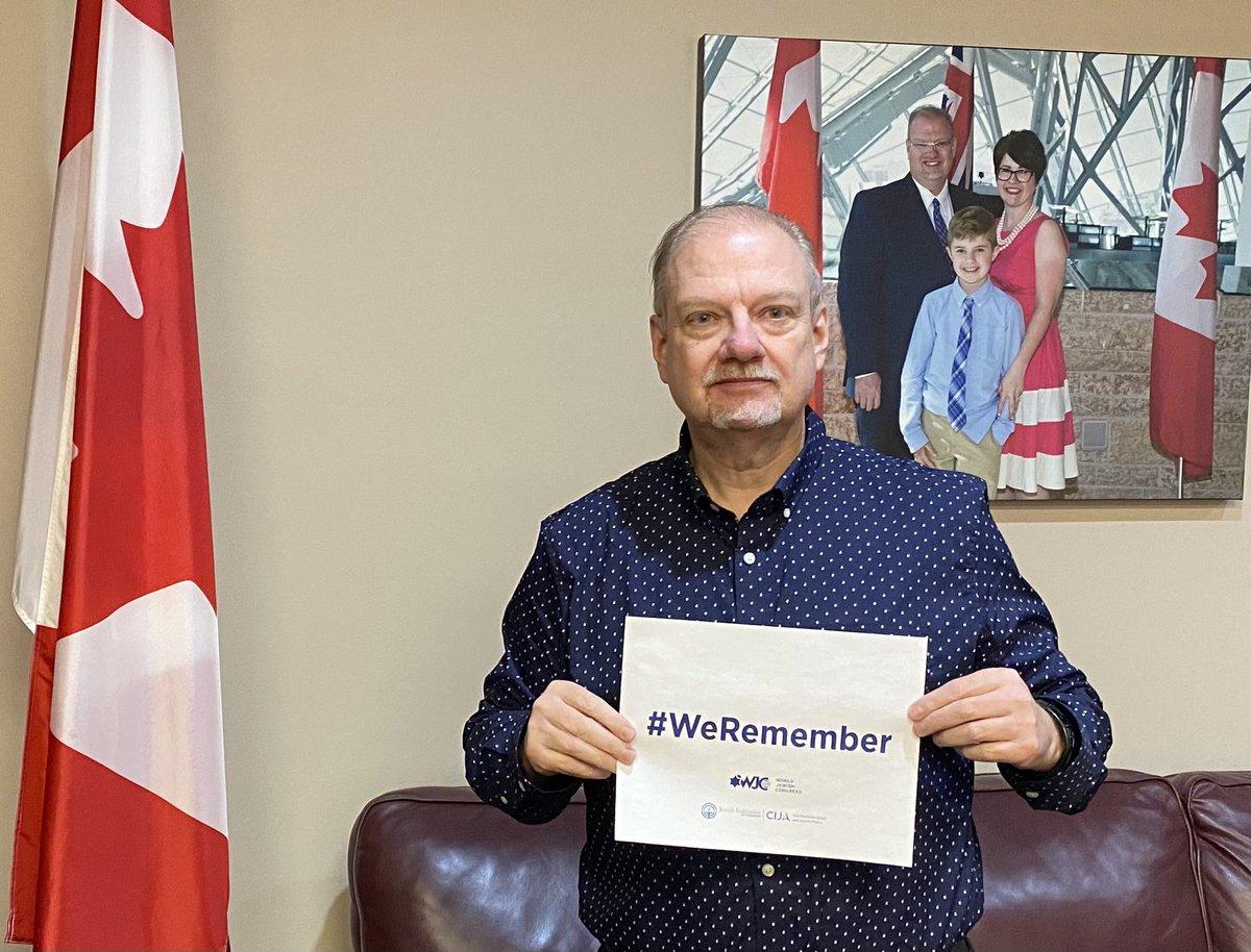 test Twitter Media - Today, International Holocaust Remembrance Day, #WeRemember. Never to be forgotten. Never to happen again. @jewishwinnipeg https://t.co/oYdFRDZdOb