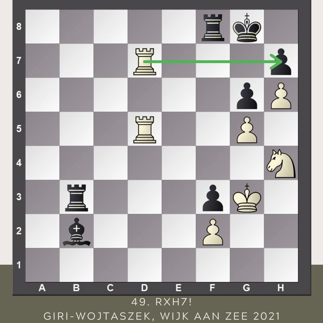 "test Twitter Media - ""Once my pawn was on h6, there is a potential to win the game. Then he kept missing things.""  Anish Giri beats Radoslaw Wojtaszek and becomes the sole leader of #TataSteelChess going into a rest day and a final portion of three more rounds. https://t.co/IEKqZOAaXK"
