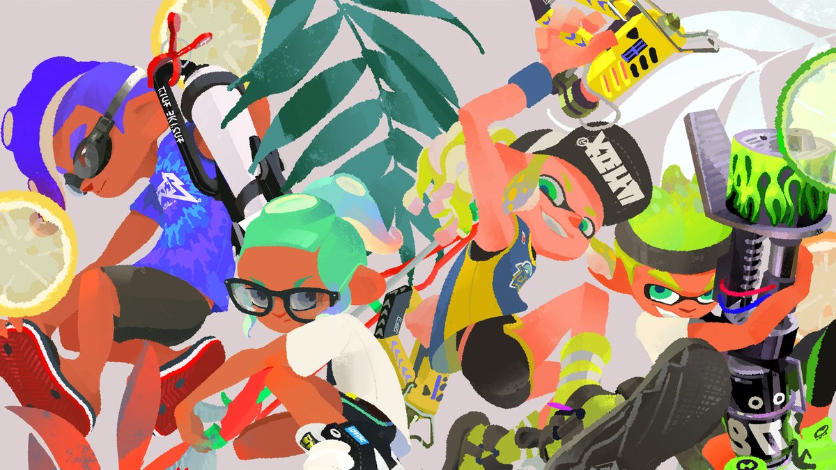 Join Evelyn for #Splatoon2 Ranked Battles on #NintendoSwitch. #freegame   ▶️