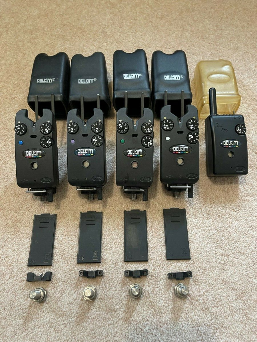 Ad - 4x Delkim TXI Plus bite <b>Alarms</b> and RX Plus Pro receiver On eBay here -->> https://