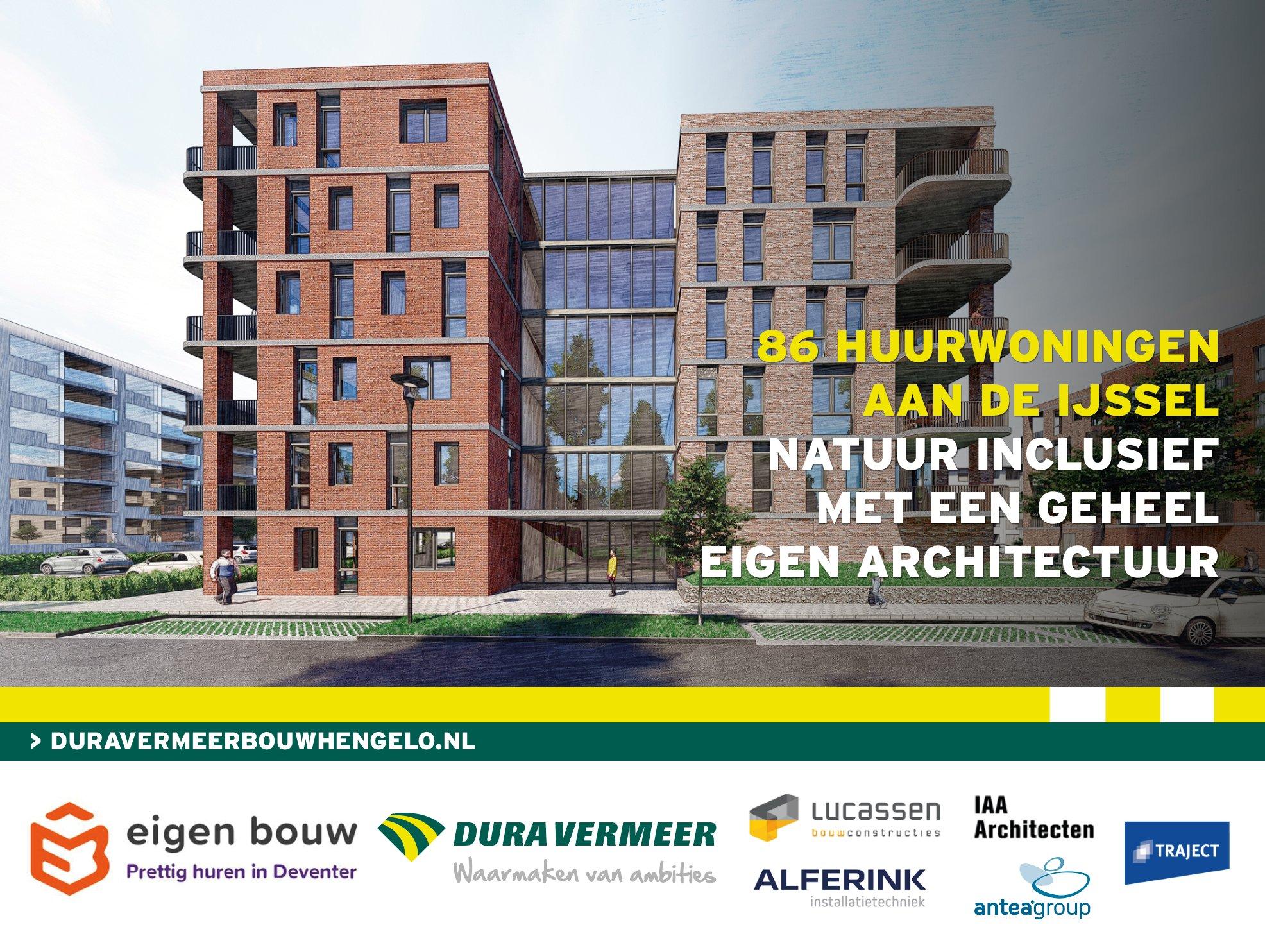 Het contract voor de bouw van 86 appartementen aan de Rubensstraat in Deventer is getekend. #TrotsGevoel @DuraVermeer #StichtingEigenbouw @AnteaGroupNL @IAAarchitecten #LucassenBC #AlferinkGroenlo #TrajectEngineering https://t.co/rxblmcRlSx