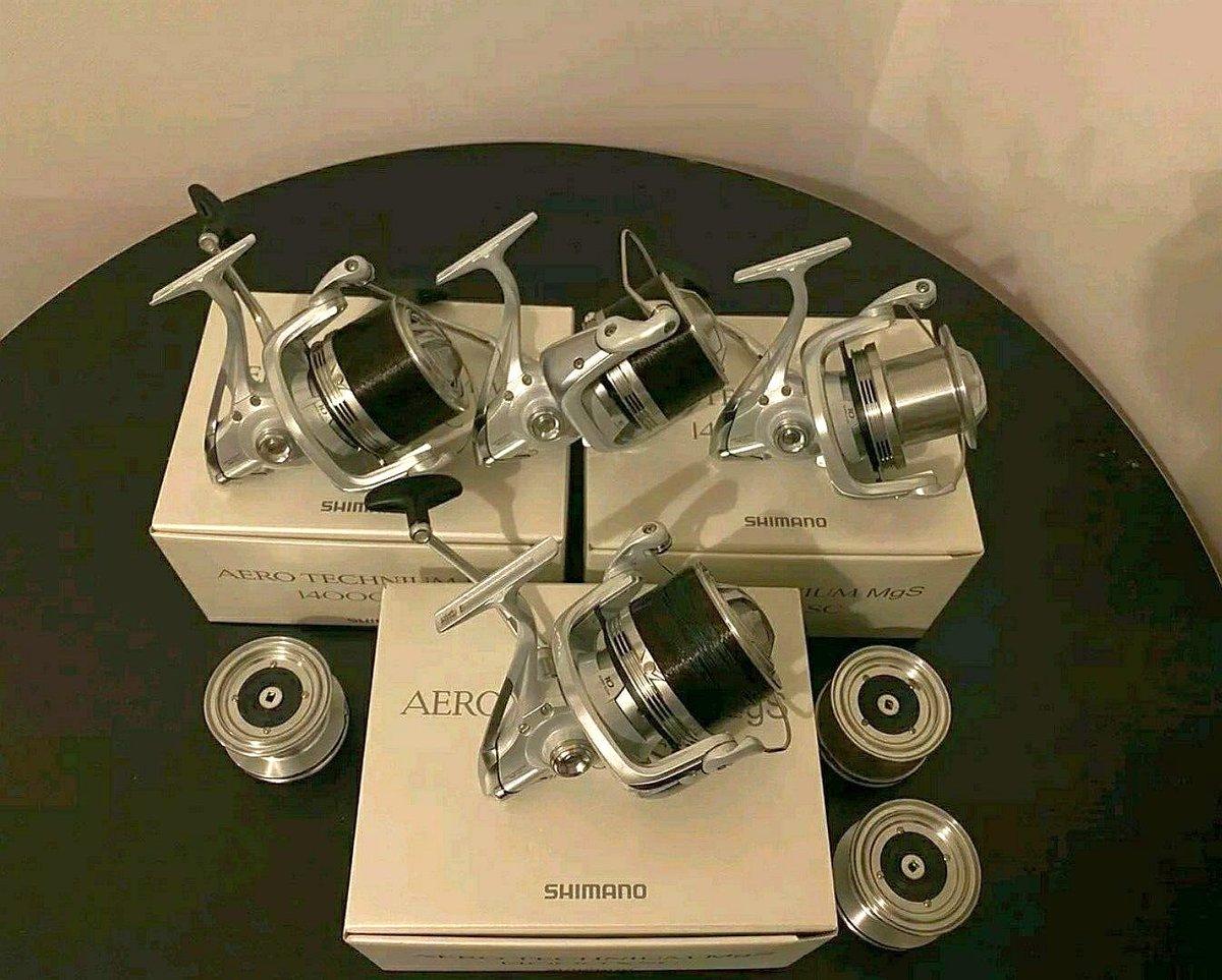 Ad - 4x Shimano Aero Technium Mgs <b>14000</b> XSC Reels On eBay here -->> https://t.co/vHjq8X