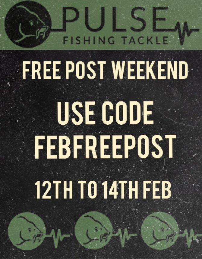 FREE POST WEEKEND STARTING MIDNIGHT #CARP #CARPFISHING #CARPTACKLE #FISHING https://t.co/UnQ2hq8qrL