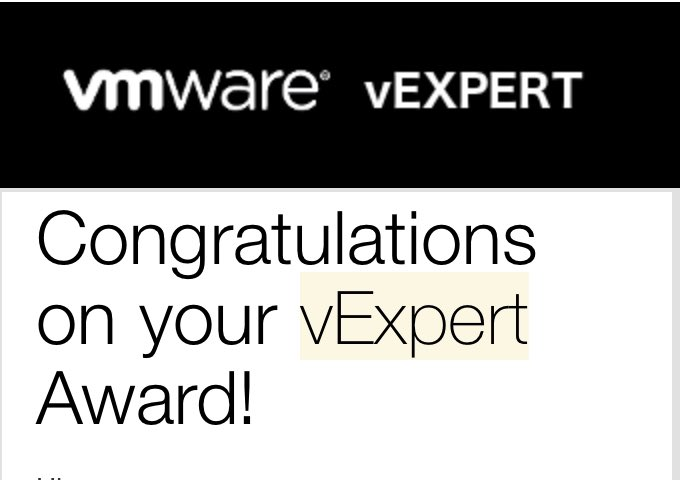 test Twitter Media - Very honoured to tweet out I've been included on the VMware #vExpert program for another year.  Massive thank you to @vCommunityGuy & @VMware for running a fantastic community of awesome people.  vExpert 2021 Award Announcement https://t.co/3r6EbQPBDe https://t.co/ZtPpDFctRf