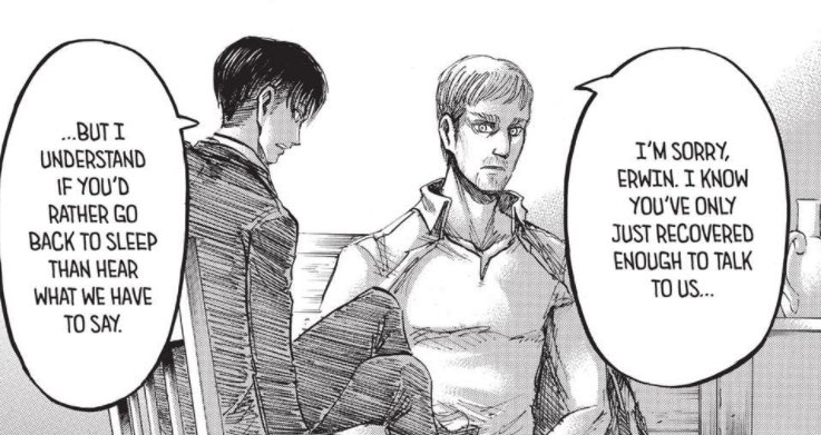 No thoughts, just Eruri refusing to rest bc they have responsibilities
