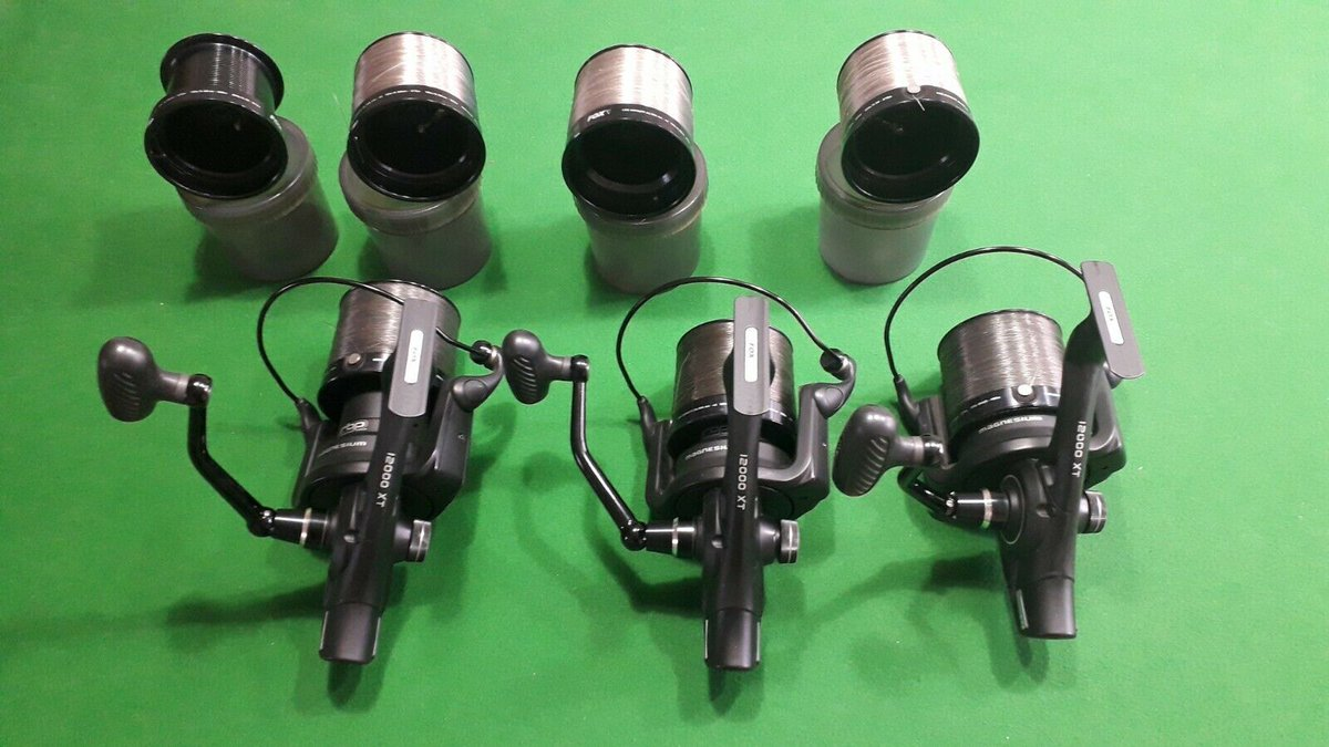 Ad - Fox 12000xt Magnesium reels x3 On eBay here -->> https://t.co/0yTH7boyhH  #carpfishing ht