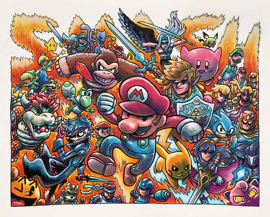 Smash commission