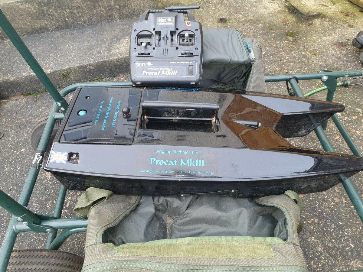 Ad - Angling Technics Procat Mk3 bait boat   On eBay here -->> https://t.co/q8AhM3jng8  #carpf