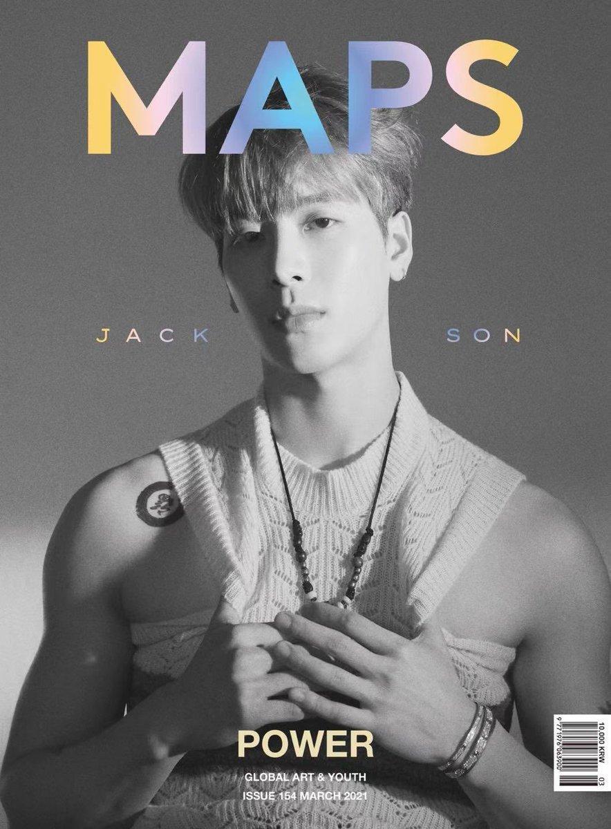 MAPS Korea 📸 -SOON- More to come 👀 #jacksonwang #잭슨 #王嘉爾 #MAPS