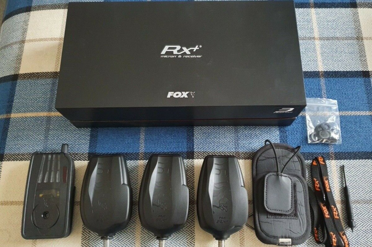 Ad - Fox RX+ 3-Rod Presentation Set  On eBay here -->> https://t.co/F91SXs18Dg  #carpfishing h