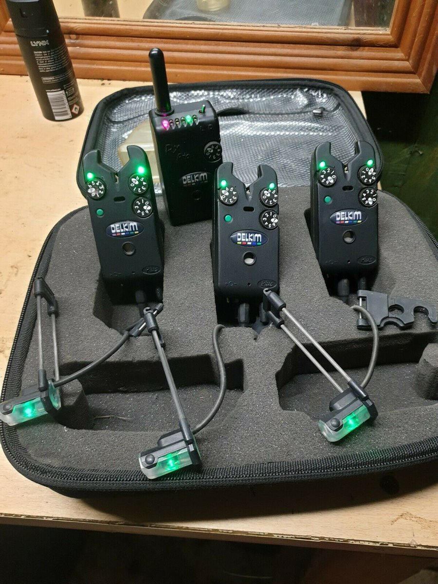 Ad - Delkim TXI Plus Bite Alarms x3 With RX Pro Receiver On eBay here -->> https://t.co/fKirQy