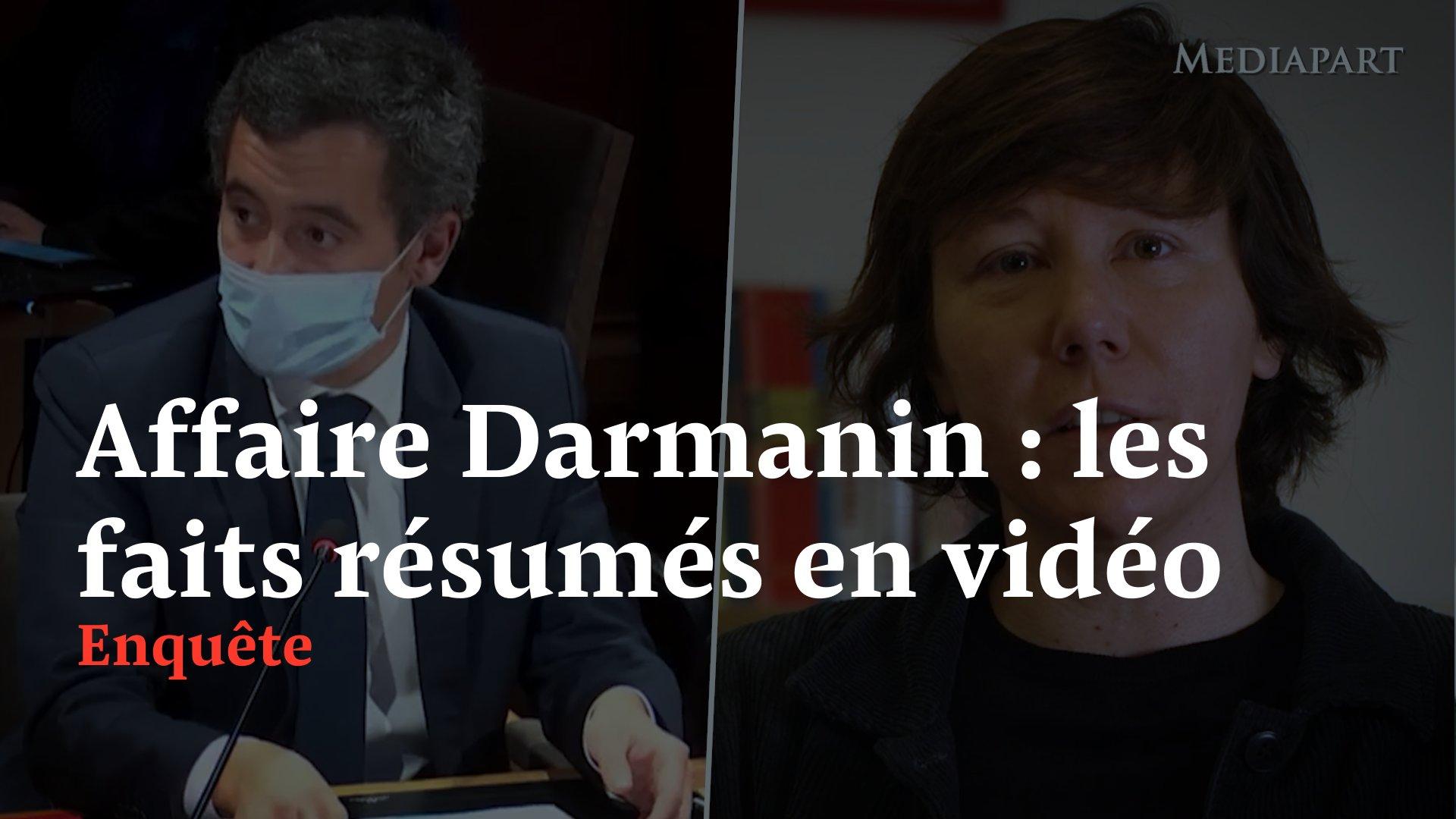 """Le ministre @GDarmanin, pour justifier son attitude avec des femmes sans avoir à entrer dans les détails, assure qu'il a eu """"une vie de jeune homme"""". Cette vidéo de 4 minutes est là pour rappeler les faits. Ils parlent d'eux-memes https://t.co/XXOGLgbII0"""