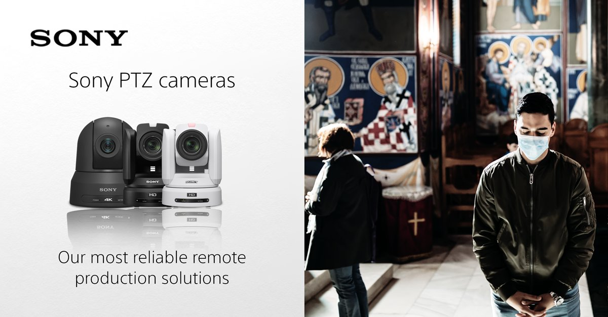 RT @sonyproeurope: Our smart set-up remote PTZ cameras can be controlled remotely, covering every angle to keep you connected to your commu…