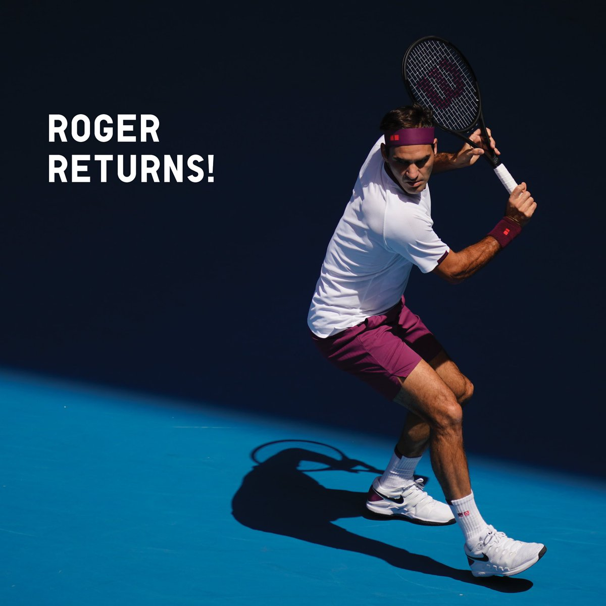 test ツイッターメディア - Help us celebrate his return to world competition. It's always exciting when Roger is in the game!  3月8日から始まるカタールでの大会で、フェデラー選手がいよいよ復帰! フェデラー選手の復帰を心から待ち望んでいたファンの皆さん、一緒に応援しましょう🎾✨  #RogerReturns https://t.co/ybG53dJKg0