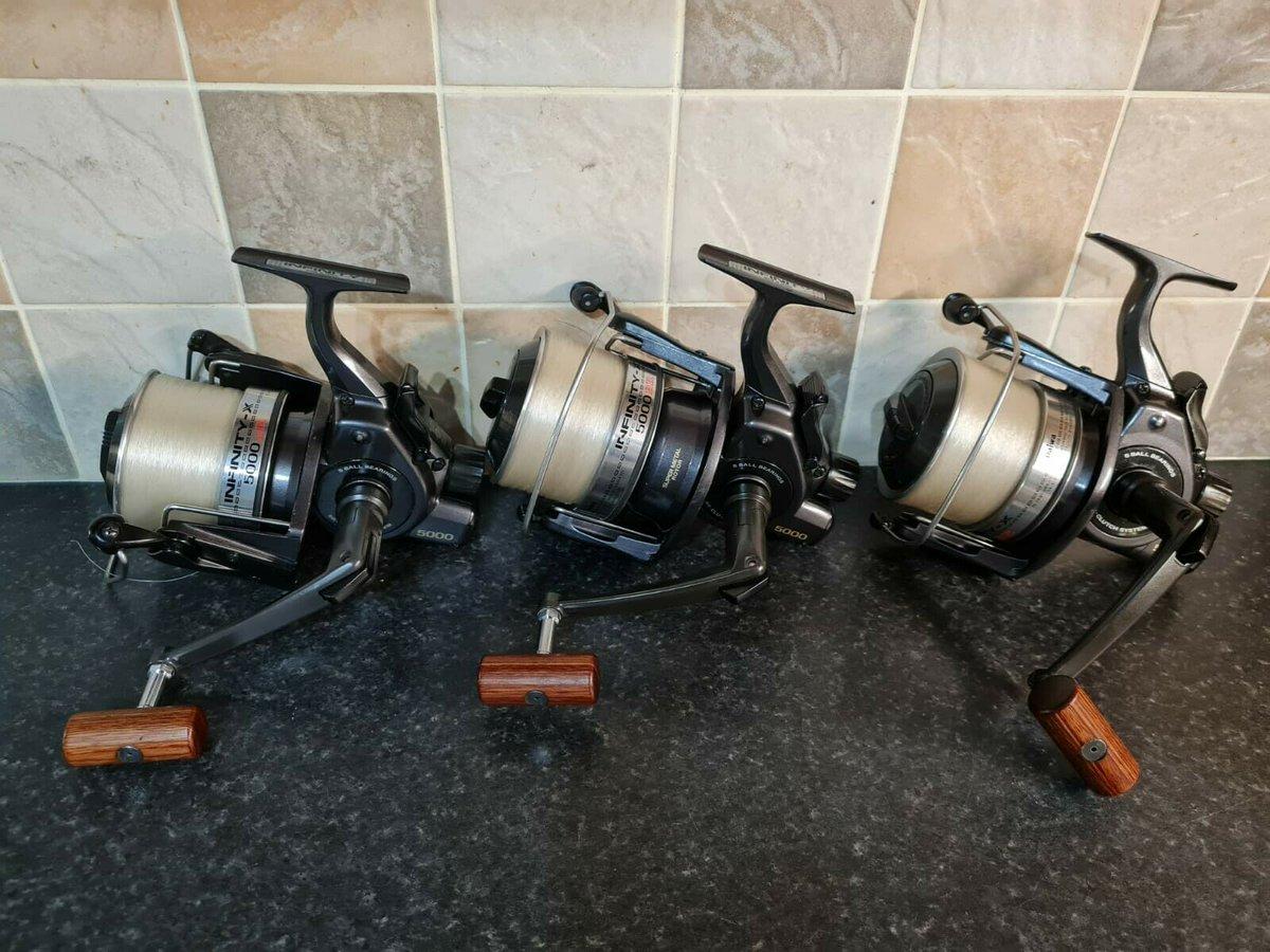 Ad - Daiwa Infinity X5000 BR Carp Fishing Reels x3 On eBay here -->> https://t.co/8NsZBuLQ7E