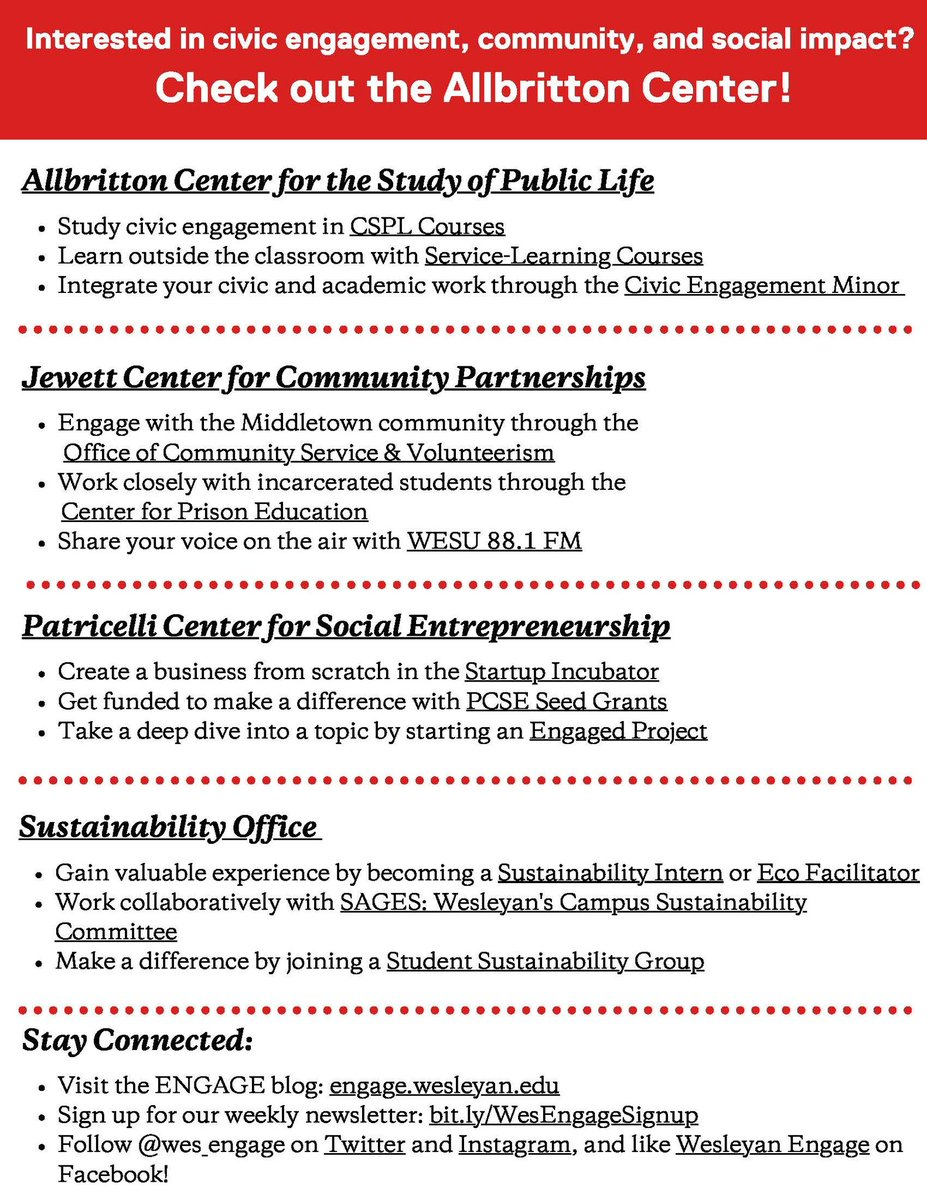 test Twitter Media - Interested in civic engagement, community, and social impact? Check out the Allbritton Center!   Every day this week we will be highlighting the different offices under the Allbritton Center. Stay tuned for more! https://t.co/qjrIyJfySW