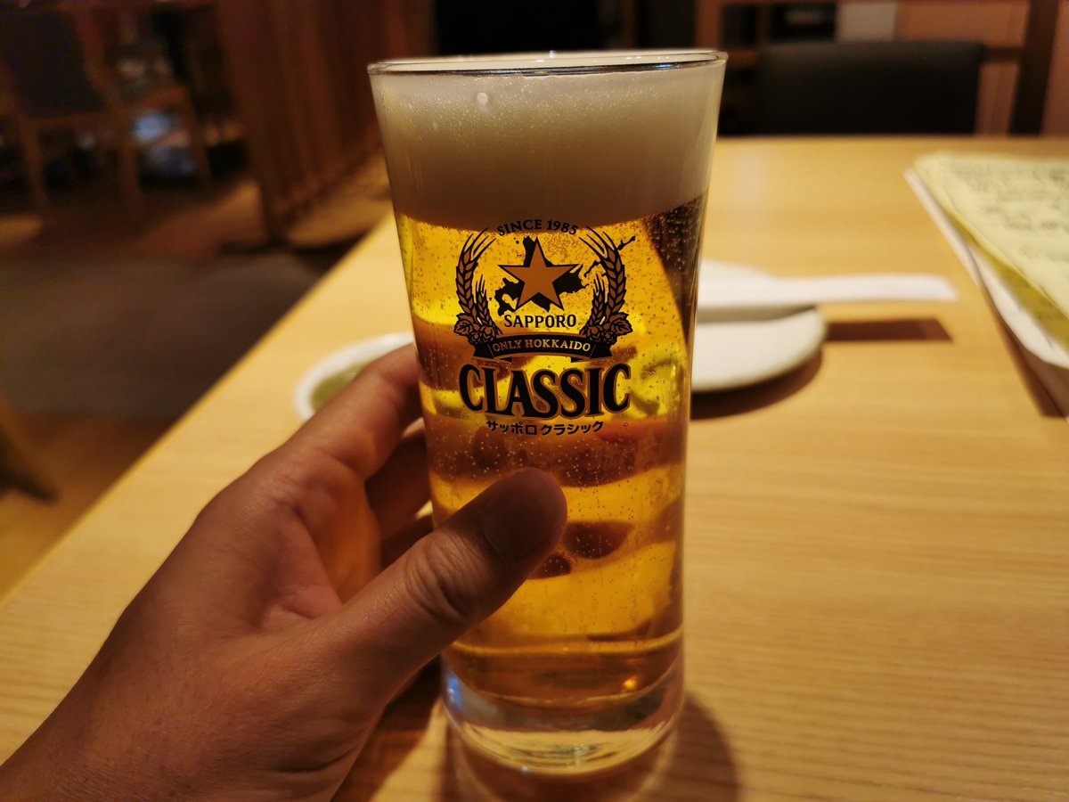 test ツイッターメディア - ちょっとだけ…日本酒は二世古の純米吟醸♪ゴキゲンダゼー https://t.co/EISG5AZNhe