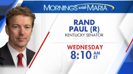 TOMORROW!!! @RandPaul