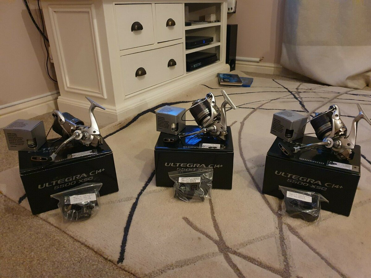 Ad - Shimano XSC 5500 Ci4 x3 On eBay here -->> https://t.co/eiCBdhrQKO  #carpfishing https://t