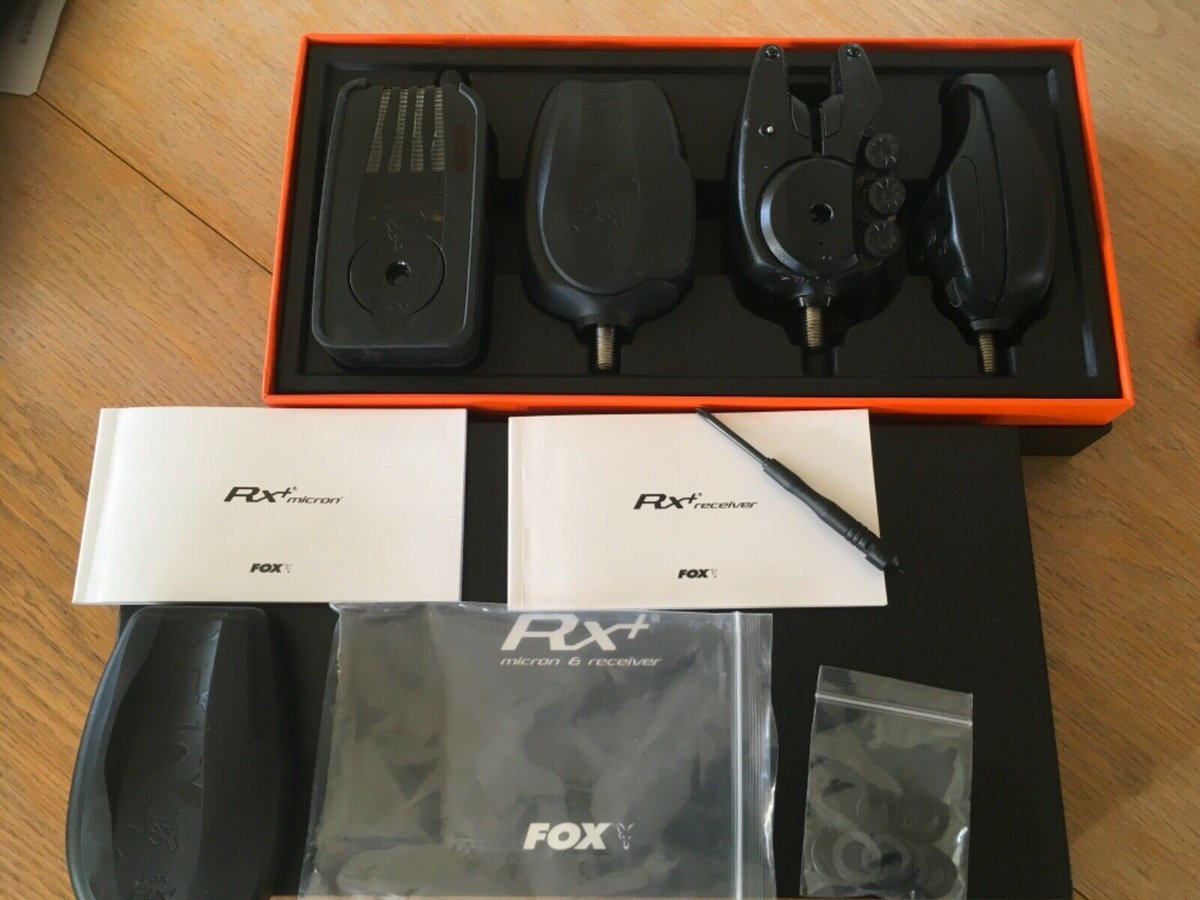 Ad - Fox Micron RX+ Presentation Set On eBay here -->> https://t.co/zSTWH3oHy6  #carpfishing h