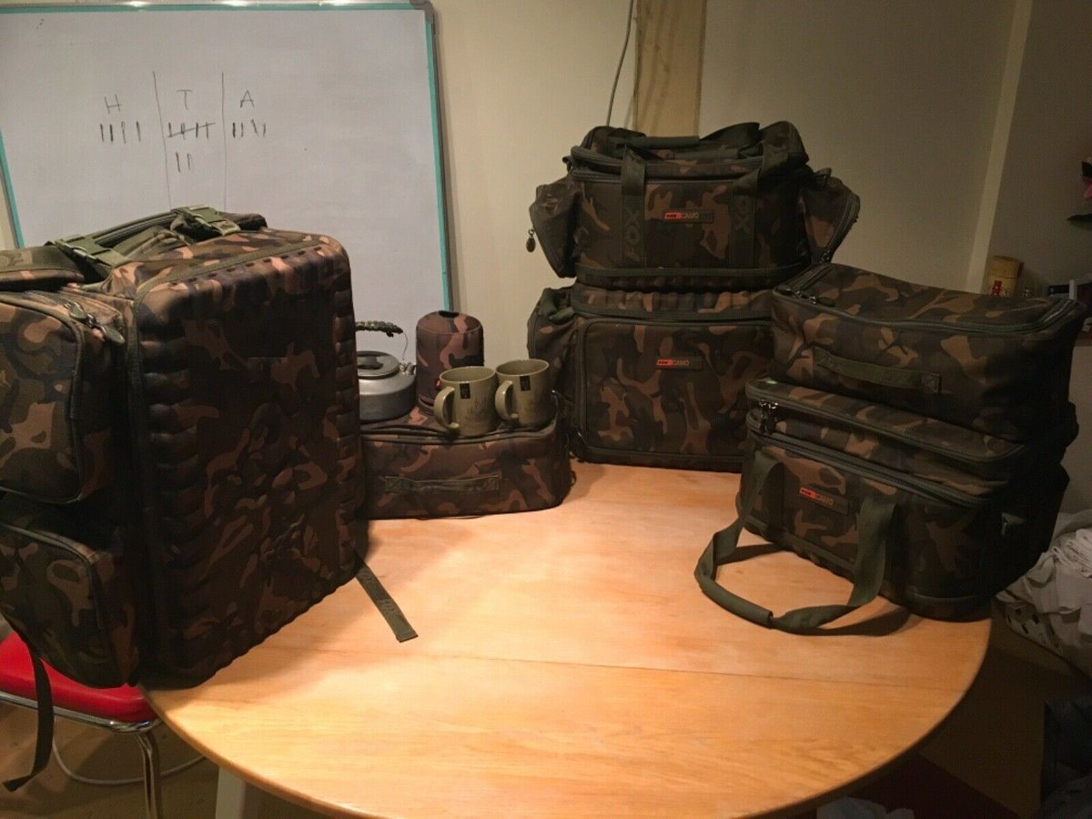 Ad - Fox Camolite Luggage On eBay here -->> https://t.co/tIHg341H14  #carpfishing https://t.co