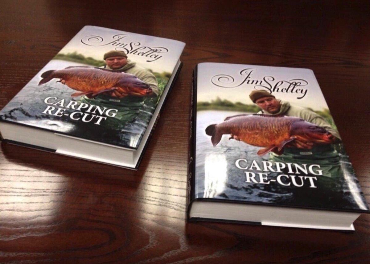 Preorders take for #carpingrecut Being reprinted ud83dudc40  https://t.co/auH1tDLWGe  #carpfishing h