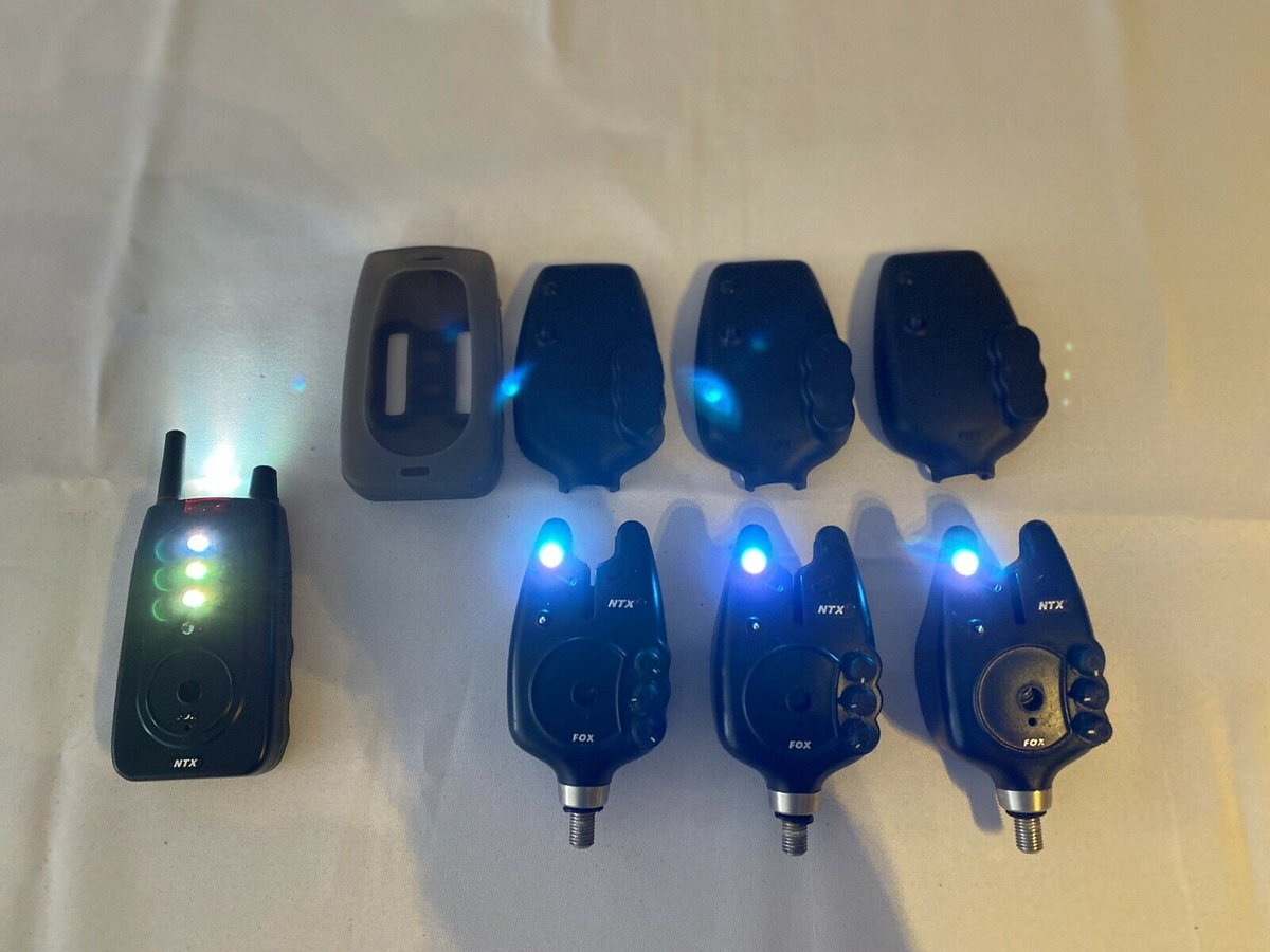 Ad - Fox NTXr Alarms And Receiver On eBay here -->> https://t.co/2cXkdVEDur  #carpfishing http