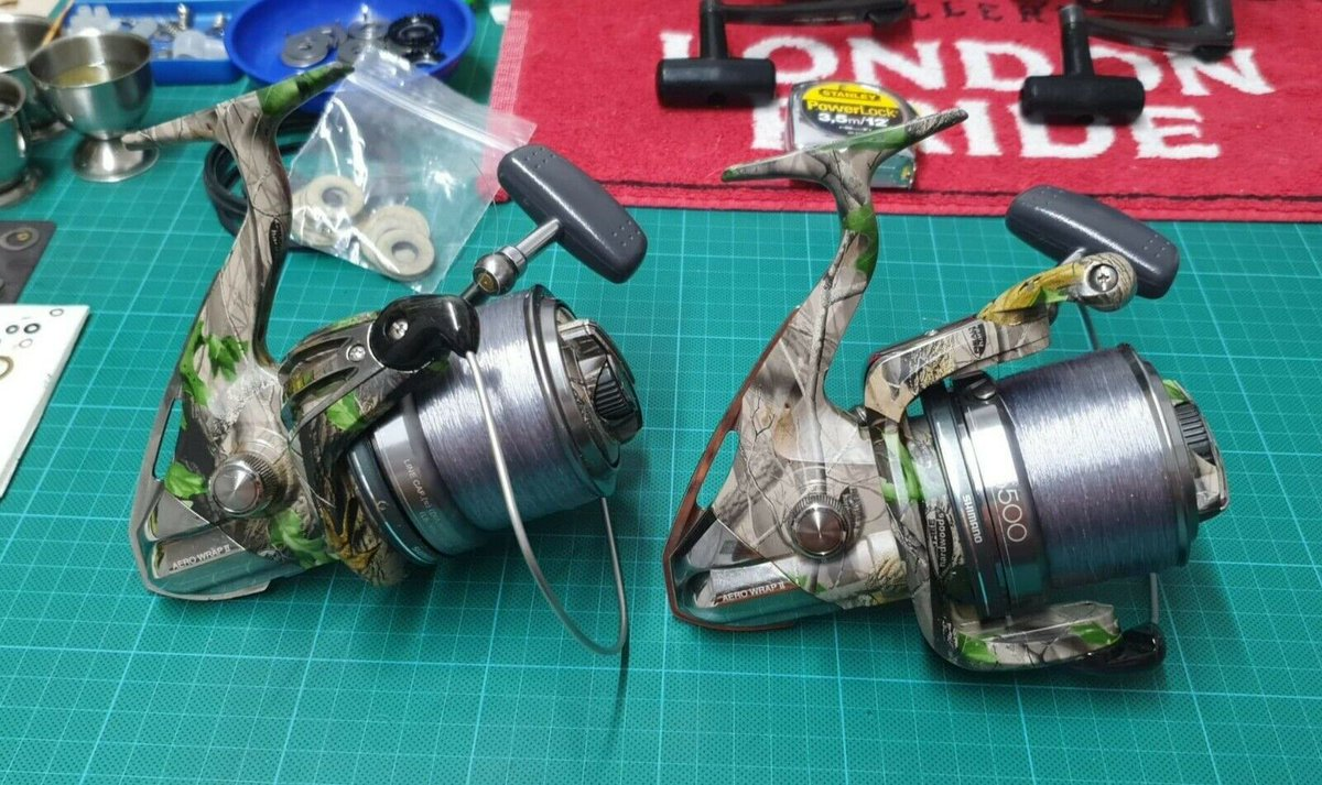 Ad - Shimano Tribal Reels On eBay here -->> https://t.co/UTqs5JxC8g  #carpfishing https://t.co