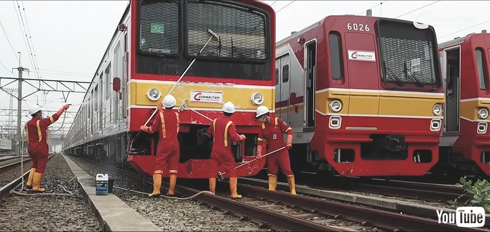 test ツイッターメディア - 何かグッと胸が熱くなってきちゃいます  武蔵野線205系、東京メトロ6000系…… 海を渡った日本の通勤電車が「ジャカルタ仕様」になっていく動画がいい…! https://t.co/1c0ByePXef @itm_nlab #205系 #ねとらぼ交通課 https://t.co/sjEmWsVJxe