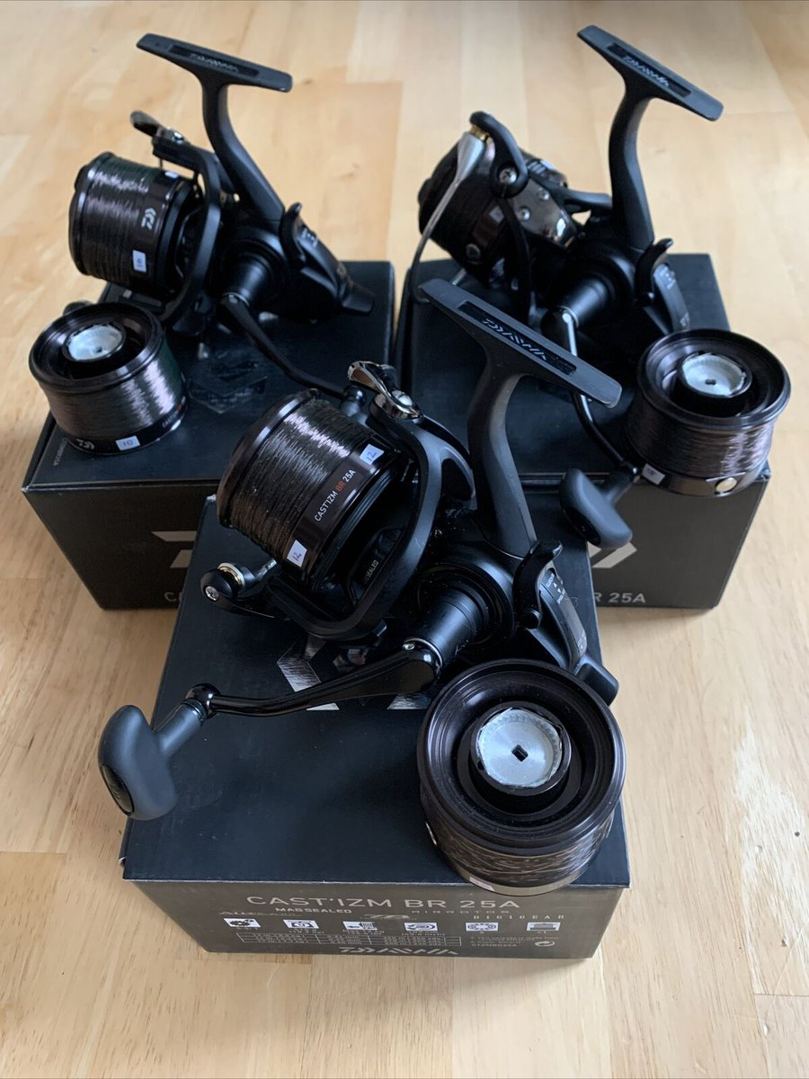 Ad - Daiwa Castizm BR 25a Reels x3 On eBay here -->> https://t.co/8pir8iSaD3  #carpfishing htt