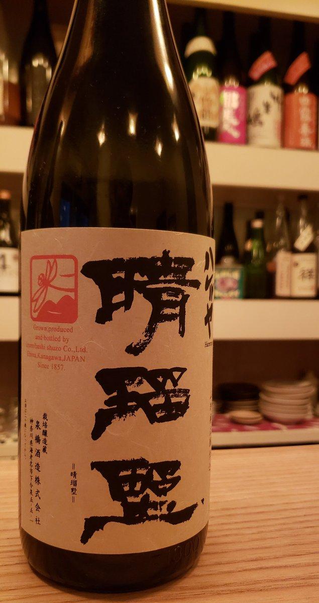 test ツイッターメディア - いづみ橋 晴瑠野(ハレルヤ)山廃純米2013BY(神奈川県、泉橋酒造)  古酒になりかけ、なりたて、くらい。熟しすぎていないのでちょうどいい具合にどの温度帯にも対応してくれます。ぬるくても熱くてもオッケーです!!  #いづみ橋 #日本酒 #방탄소년단 https://t.co/v1W8X2qkJj