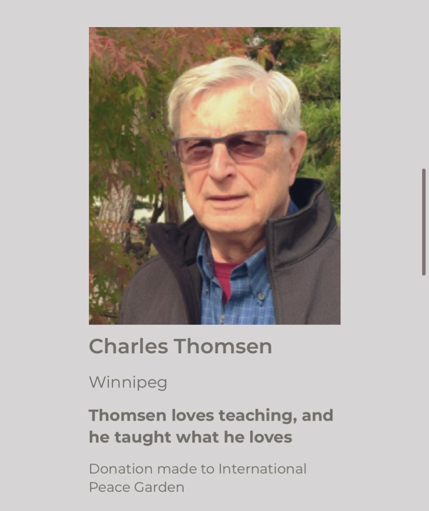 test Twitter Media - Congratulations to Charles Thomsen & Hong (Helen) Wang, both recipients of the Honour 150 award! Nominated by fellow Fort Richmond residents, they have been recognized as positive contributors to our community's growth. Well done! 👏👏💐#mb150  https://t.co/r2j6PMFAsX… https://t.co/jUUbnHsOlz