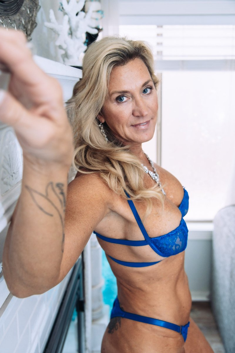 You Beauty!!! One more sale! Electric Blue Bra and Panty Set - Still Images...