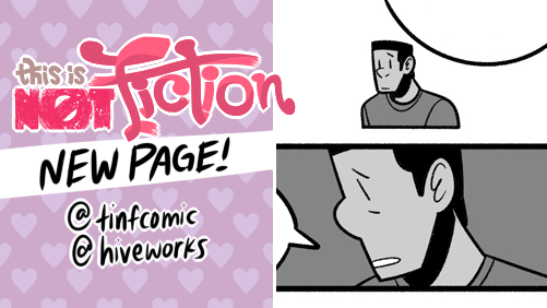 More questions ❓ NEW TINF update!   💜 chapter start:  💜 main:  💜 #tinfcomic #hiveworks