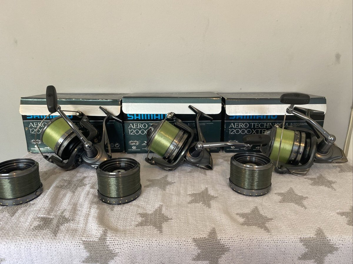 Ad - Shimano Aero Technium XTB 12000  On eBay here -->> https://t.co/h7lcjMd41h  #carpfishing