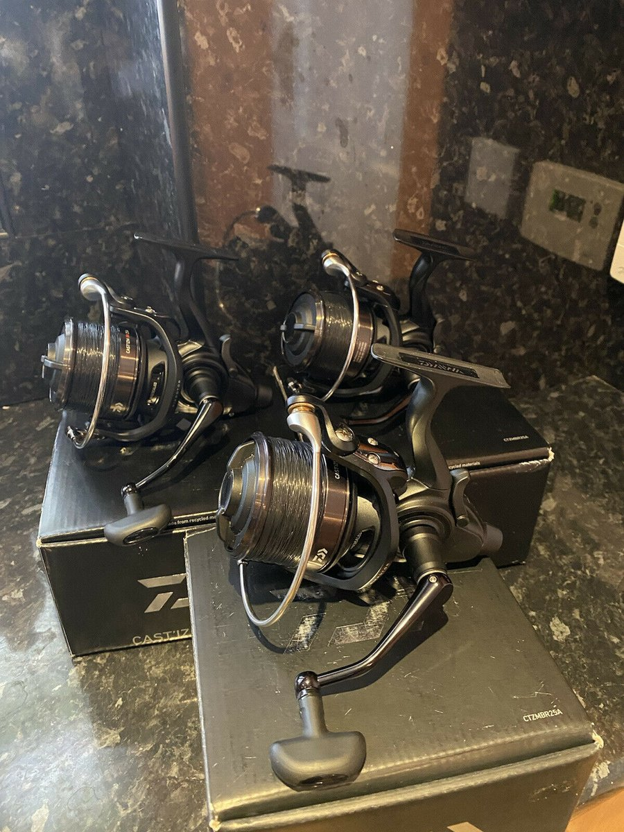 Ad - Daiwa Castizm BR25A Reels x3 On eBay here -->> https://t.co/FjBVzcgo0H  #carpfishing http