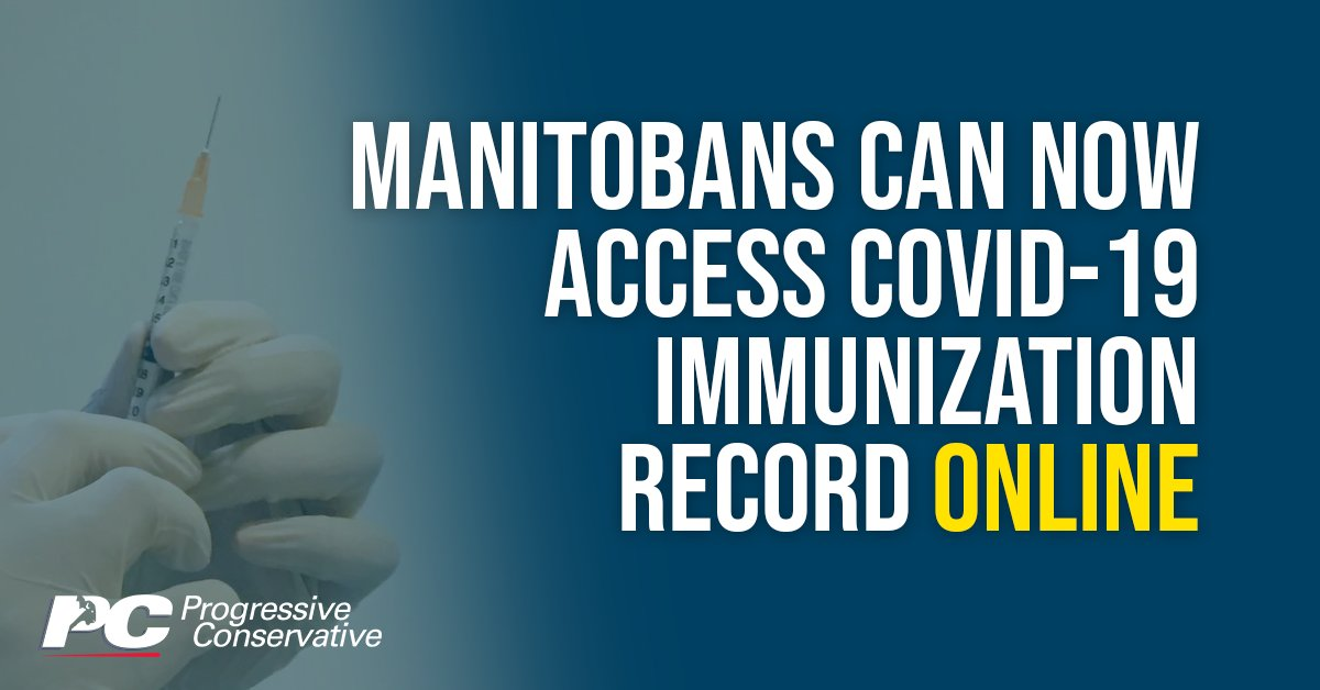 test Twitter Media - Manitobans who have received a COVID-19 immunization can now view and print this information online: https://t.co/w8lycI8QUw  #mbpoli #COVID https://t.co/fL1hdbPxiZ