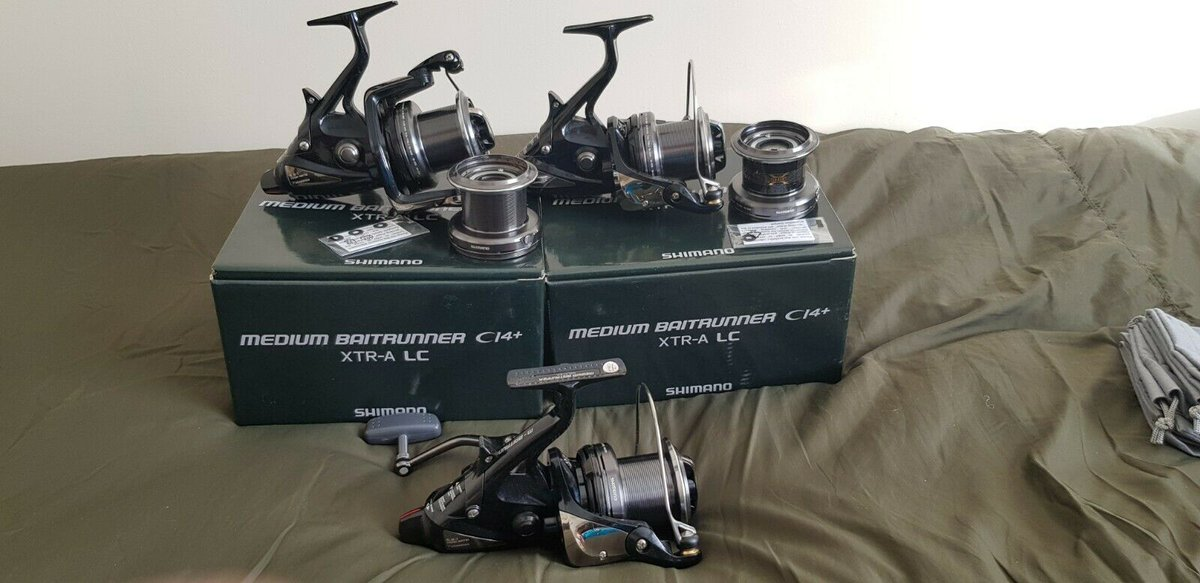 Ad - Shimano Medium Ci4+ Baitrunner XTR-A LC x3 On eBay here -->> https://t.co/F1rVmFqdj6  #ca