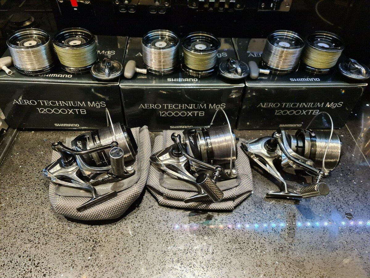 Ad - 3x Shimano MGS 12000 XTB Black Mags On eBay here -->> https://t.co/ueQflY88Rq  #carpfishi